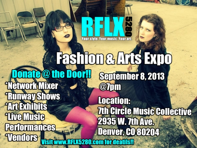 Fashion and Arts Expo Flyer 2